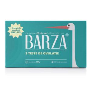 Test de ovulație Barza (cutie cu 3 teste + 1 test de sarcină cadou)