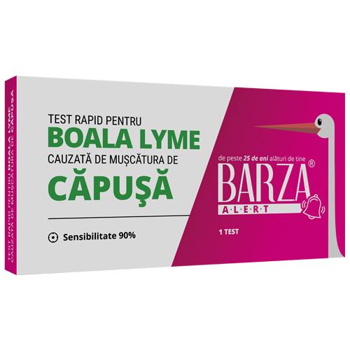 test rapid boala lyme borellia