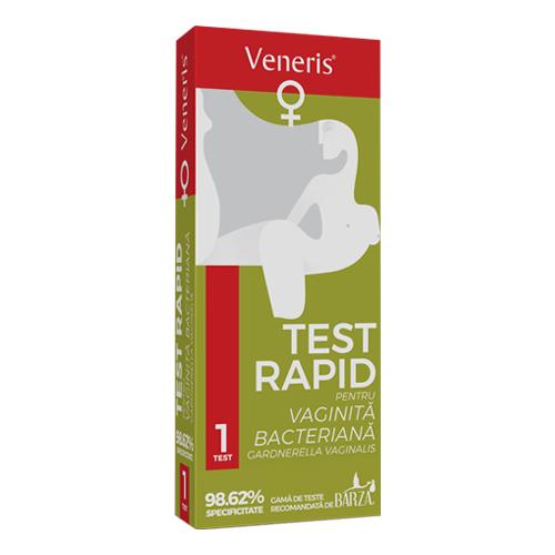 test rapid vaginita bacteriana veneris