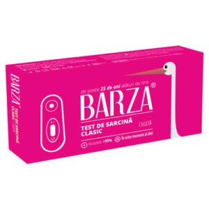 Test de sarcina tip caseta de la Barza
