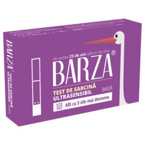 Test de sarcina ultrasensibil cu banda de la Barza