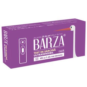 Test de sarcina ultrasensibil, caseta, de la Barza