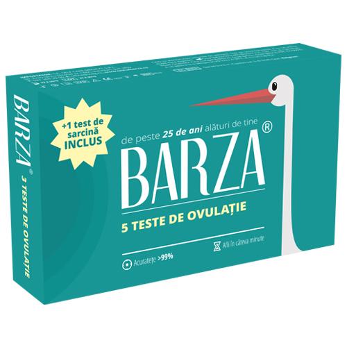 Test de ovulatie barza, cele mai fertile zile ale lunii.