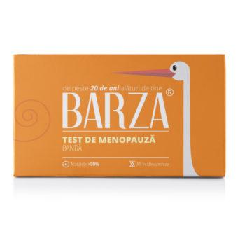 Test de menopauză Barza bandă