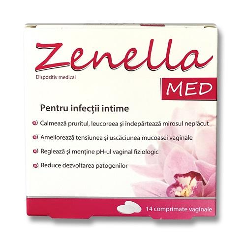 Zenella med, comprimate, infectii intime, vaginale, vaginita bacteriana