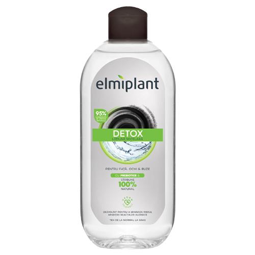 Detox apa micelara cu prebiotice Elmiplant, 400ml