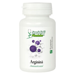 Arginina Dacia Plant, aminoacid esential care sustine functiile hepatice si cardiovasculare