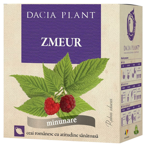 Ceai de zmeur Dacia Plant, disconfort menstruatie