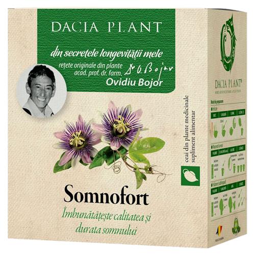 Ceai pentru somn Somnofort Dacia Plant, calitatea si durata somnului