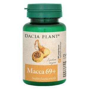 Macca 69+ Dacia Plant, sustine functia erectila