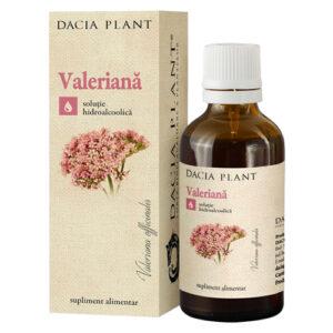 Valeriana Dacia Plant, echilibru emotional, somn usor