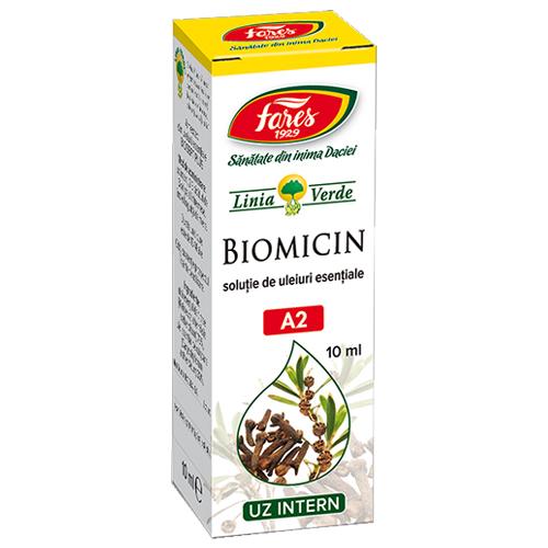 Biomicin, tract respirator, uleiuri esentiale, Fares