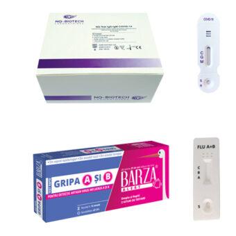 teste rapide covid si gripa