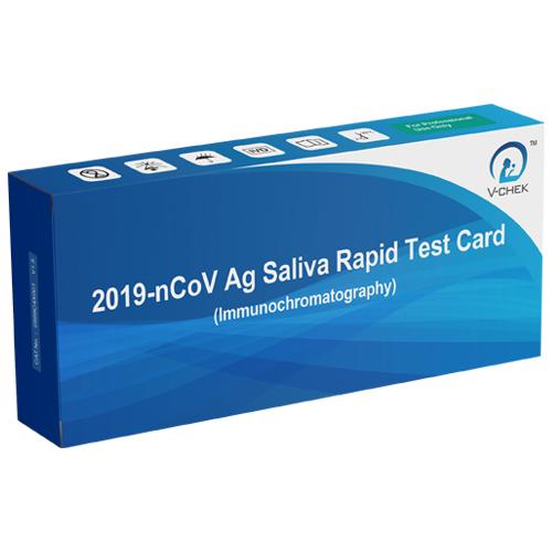 test rapid antigen covid saliva dispozitiv incorporat