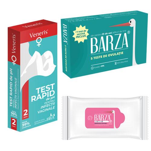 Teste ovulatie, teste ph vaginal, servetele intime bicarbonat